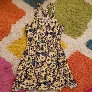 H&M Abstract Floral Dress